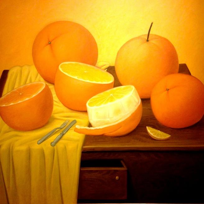 Chubby oranges