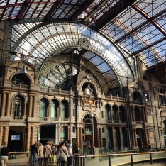 Antwerp Train Station, Belgium